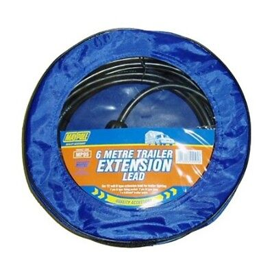 6m 12n Trailer Extension Lead - Maypole Mp95