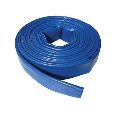 Silverline Lay Flat Hose 10m x 32mm - 633656 Discharge