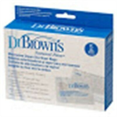 Dr. Brown's Options Micr Sterilise Bag 5pk - Microwave Steam Bags Dr Browns