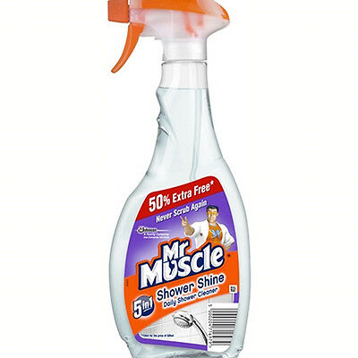 Mr Muscle Shower Cleaner 500ml + 50%