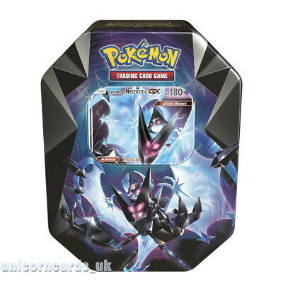 Pokemon TCG: Necrozma Prism Tin with Dawn Wings Necrozma-GX :: Brand New And Sea