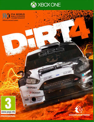 DiRT 4 (Xbox One)  BRAND NEW AND SEALED - IN STOCK - QUICK DISPATCH