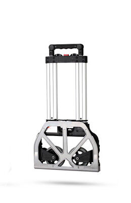 E59 Rugged Aluminium Luggage Trolley Hand Truck Folding Foldable Shopping Cart