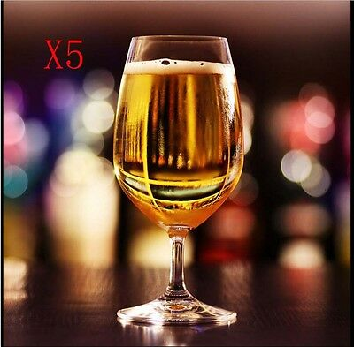 New 5X Capacity 340ML Height 164MM Transparent Whisky Wine Glass/Glassware %