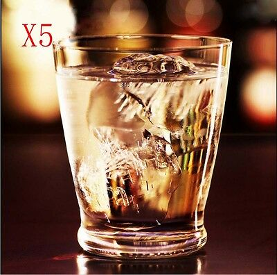 New 5X Capacity 350ML Height 110MM Creative Whisky Wine Glass/Glassware %