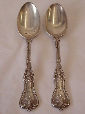 """Frank W. Smith Sterling Silver Federal Cotillion Teaspoon 5-3/4"""" -  Set of 2 - M"""