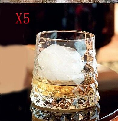 New 5X Capacity 320ML Height 85MM Creative Whisky Wine Glass/Glassware %