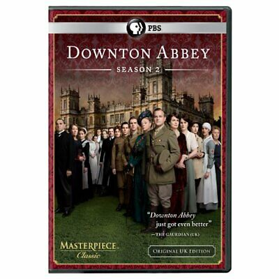 Masterpiece Classic: Downton Abbey Season 2 (Original U.K. Edition) [DVD] NEW!