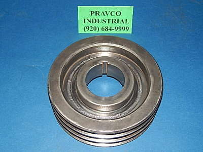 "Pulley Sheave 3 Groove 7-3/4"" (7.75"") Outer Diameter"