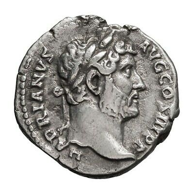 Hadrian's Travel Denarius with Scarce Province of Asia