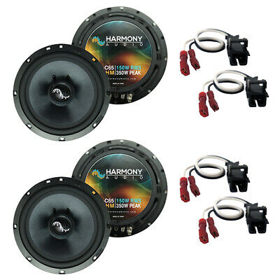 Fits Chevy Colorado 2004-2012 Factory Speakers Upgrade Harmony (2) C65 Package