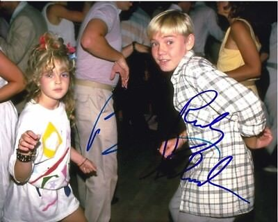 DREW BARRYMORE & RICKY SCHRODER signed autographed photo RARE