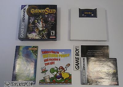 GOLDEN SUN THE LOST AGE (Nintendo Game Boy Advance) COMPLETE IN BOX!! w/Map  RPG