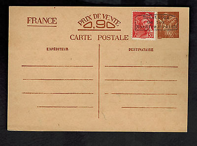 1940 Dunkirk Nord France Postal Stationery PC Cover Local Issue German Cancel