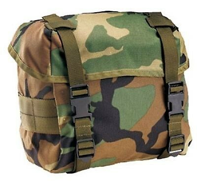 US Army Butt Pack woodland camouflage Tasche bag mit ALICE Clips