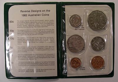Australia, Brisbane XII Commonwealth Games 1982 6 coin set