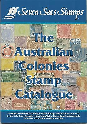 SEVEN SEAS AUSTRALIAN COLONIES STAMP CATALOGUE in Colour