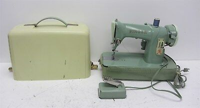 Vintage Singer 185J Sewing Machine, Canada Made, w/ Pedal & Case - Parts/Repair
