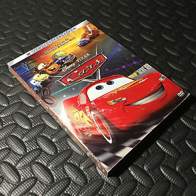 Cars Widescreen Disney Dvd With Slipcover