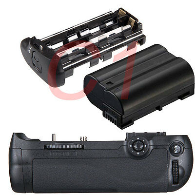 Vertical Battery Grip for Nikon D600 D610 + EN-EL15 1800mAh SLR Camera as MB-D14