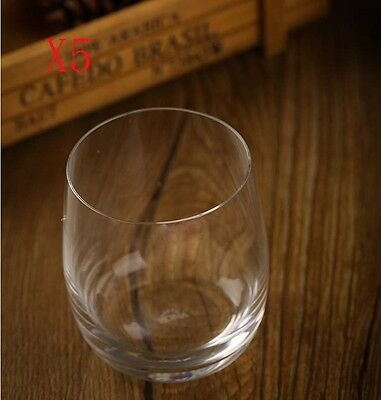 New 5X Capacity 460ML Height 103MM Classical Whisky Wine Glass/Glassware %