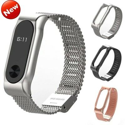 For Xiaomi Mi Band 2  Bracelet Stainles Steel Watch Band Strap Wrist LOT