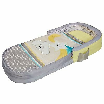 Stars And Clouds My First Ready Bed Mattress Kids Toddler Junior