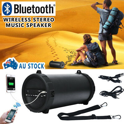 New Bluetooth Wireless Stereo Music Speaker USB MIC MP3/FM/TF Outdoor for Phone