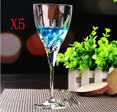 New 5X Capacity 240ML Height 211MM Creative Whisky Wine Glass/Glassware %