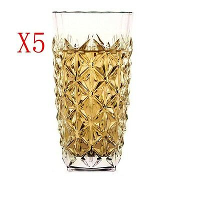 New 5X Capacity 400ML Height 151MM Creative Whisky Wine Glass/Glassware %