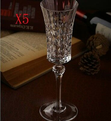 New 5X Capacity 150ML Height 230MM Creative Champagne Wine Glass/Glassware %
