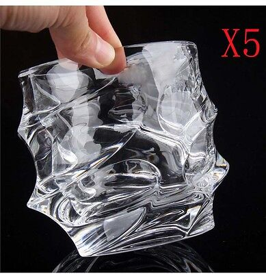 New 5X Capacity 300ML Height 100MM Creative Whisky Wine Glass/Glassware %