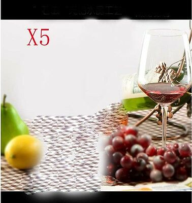 New 5X Capacity 627ML  Height  233.4MM  Transparent  Red Wine Glass/Glassware %