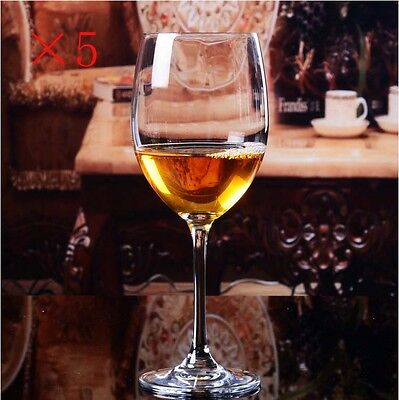 New 5X Capacity 210ML  Height 170MM  Transparent  Red Wine Glass/Glassware %