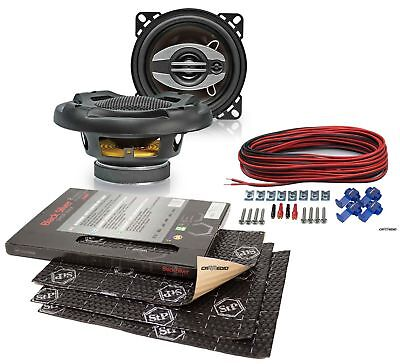 Toyota Yaris 99-06 Upgrade Speaker 3 15/16in Front + Stp Alubutyl Insulation
