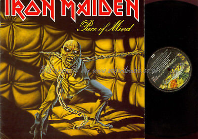 LP-  Iron Maiden ‎– Piece Of Mind // FOC // 06407724