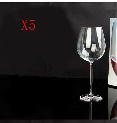 New 5X Capacity 460ML Height 229MM Creative High Foot Red Wine Glass/Glassware %