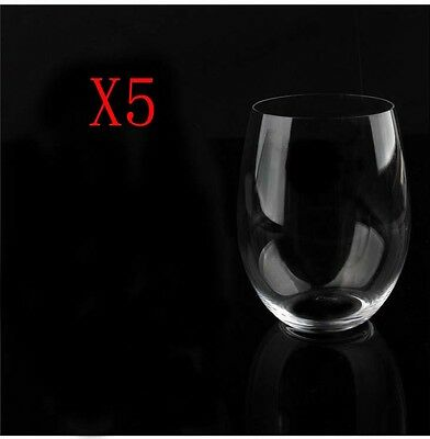 New 5X Capacity 620ML Height 120MM Lead Free Whisky Wine Glass/Glassware %