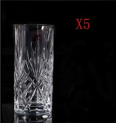 New 5X Capacity 360ML Height 150MM High Body Whisky Wine Glass/Glassware %