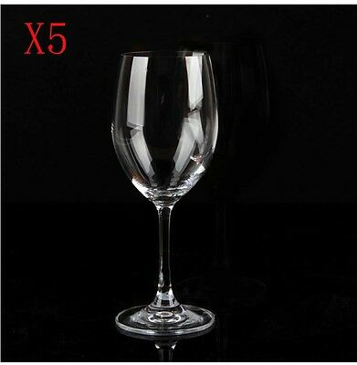 New 5X Capacity 540ML  Height  231MM  Transparent  Red Wine Glass/Glassware %
