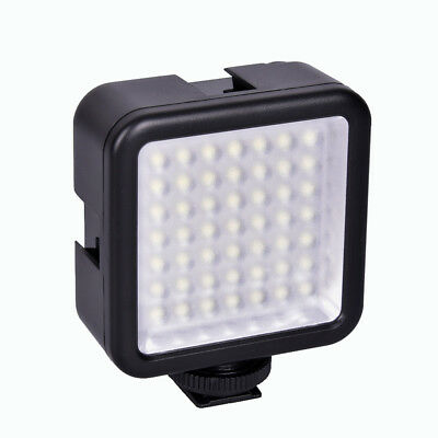 Mini Pro LED-49 Video Luz 49 LED Flash Light para DSLR Cámara Videocámara 6000K