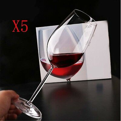 New 5X Capacity 590ML Height 261MM Lead Free Creative Red Wine Glass/Glassware %