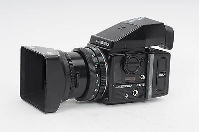 Bronica ETRSi Kit (body, 75mm PE Lens, 220 back, prism) Outfit