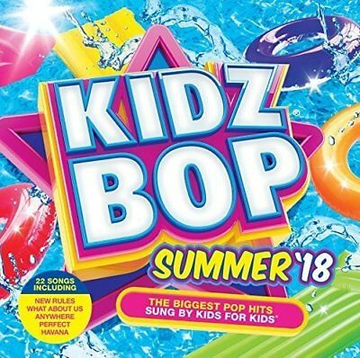 Kidzbop ~ Kidz Bop Summer 18 ~ NEW CD Album ~ 22 Hits Sung by Kids for kids