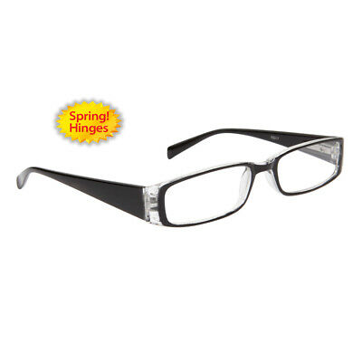 b382f9aa8abd Reading Glasses +2.25 New Fashion Designer Readers Women Black Clear R17225