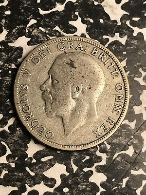 1928 Great Britain 1 Florin Lot#X5035 Silver!