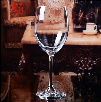 New 5X Capacity 250ML  Height 174.8MM  Transparent  Red Wine Glass/Glassware %