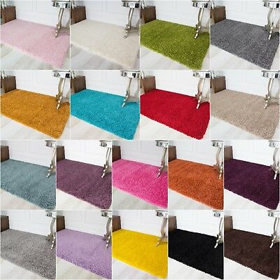 Modern Soft Non Shed Thick Shaggy Living Room Rugs Cheap Plain Warm Shaggy Rugs