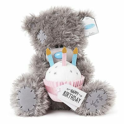 Me To You Large Tatty Teddy Bear with Birthday Cake & Message