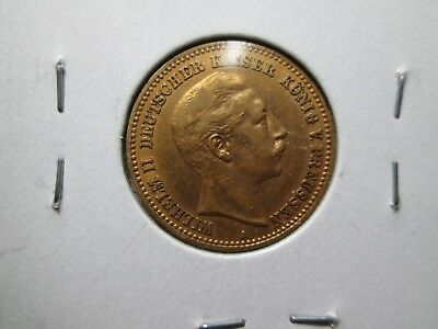 1903 A GERMANY 10 marks UNCIRCULATED Gold Coin